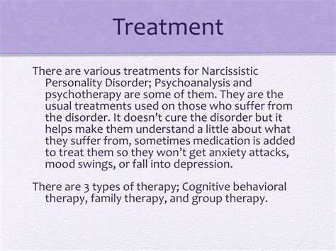 personality disorder mood swings ppt narcissistic personality disorder powerpoint