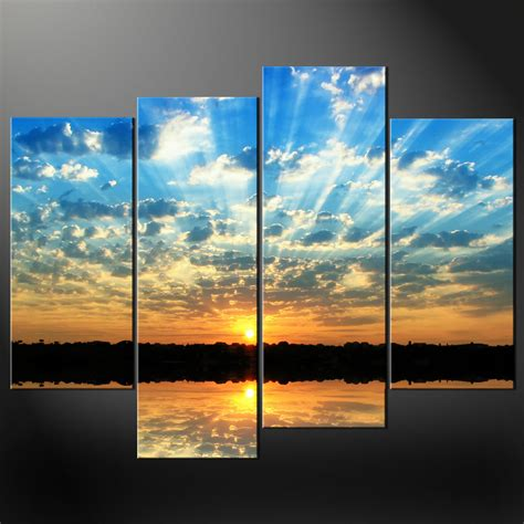 canvas prints sky reflection in sea canvas wall art pictures prints larger sizes available canvas print art