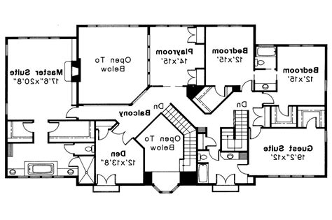 Mediterranean Style Floor Plans Mediterranean House Plans Moderna 30 069 Associated