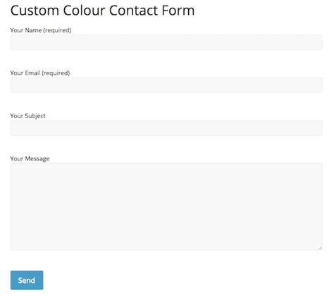 sahifa theme contact form comment personnaliser le formulaire contact form 7