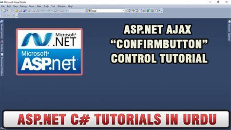 wordpress tutorial in urdu youtube asp net ajax tutorial in urdu confirmbuttonextender