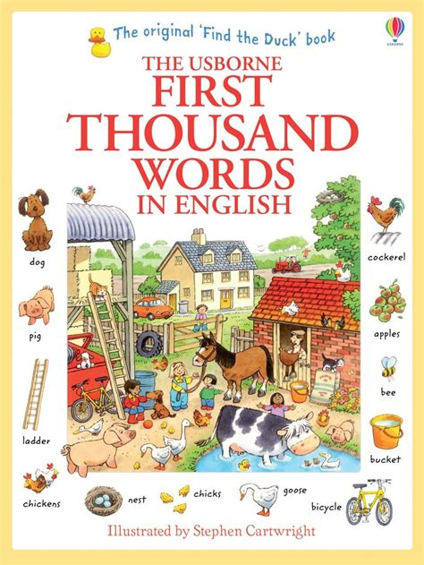 first thousand words in 0746023065 first thousand words in english at usborne books at home