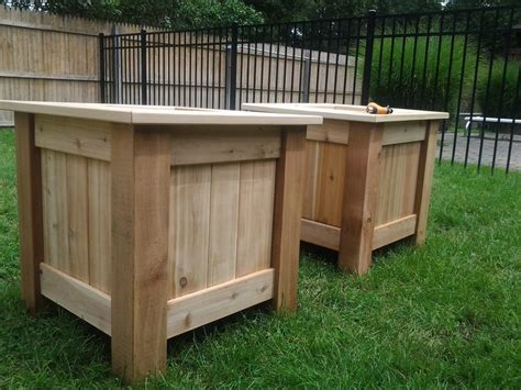 Outside Planter Boxes by Outdoor Planter Boxes By Artb Lumberjocks
