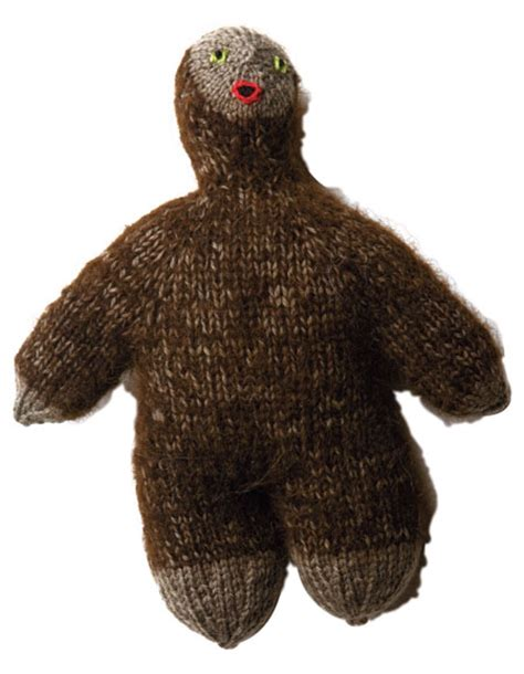 yeti crochet pattern fuzzy yeti sasquatch pattern knitting patterns and