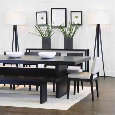 modern dining table with bench best modern dining table with bench home furniture
