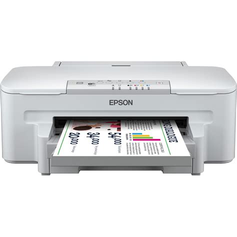 Printer A4 Epson epson workforce wf 3010dw a4 colour inkjet printer ebay