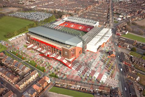 House Plans With Future Expansion by Lfc Reveal Stadium Expansion Vision Liverpool Fc