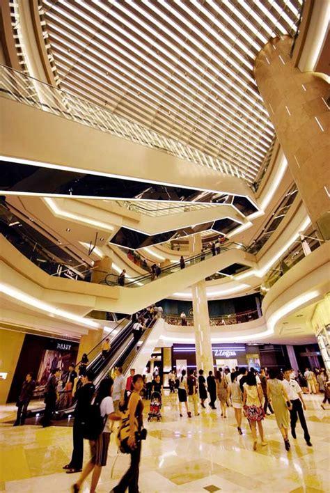 Residential Atrium Design ion orchard singapore retail mall e architect