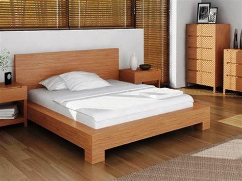 wood platform bed plans