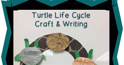 One Tiny Turtle Read And one tiny turtle craft and writing