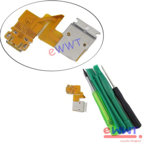 Port Usb Sony Xperia Z C66026603 Z Lte charger dock port flex cable tools for sony xperia