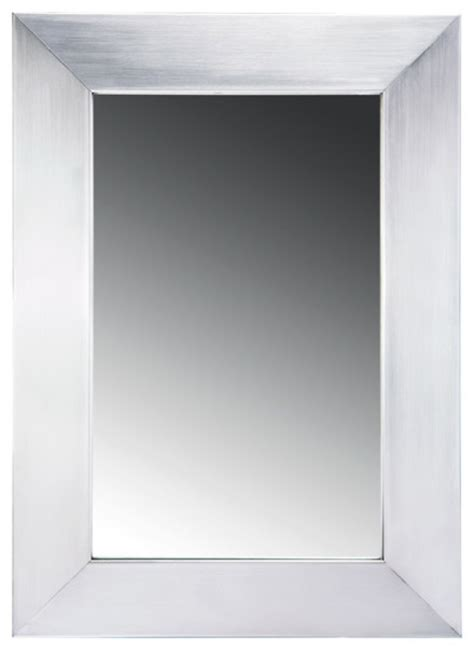 stainless steel bathroom mirror whitehaus wh2215gss 15 noah stainless steel framed mirror