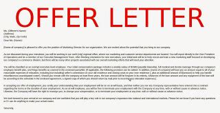 Offer Letters Legally Binding Offer Letters Of Employment Sles Business Letters