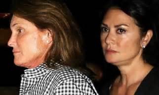Bruce Jenner Spruced Up To Take Mystery Brunette To Elton | bruce jenner spruced up to take mystery brunette to elton