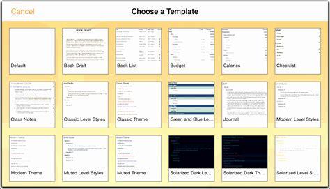 Omnioutliner Templates by 6 User Manual Template Sletemplatess Sletemplatess