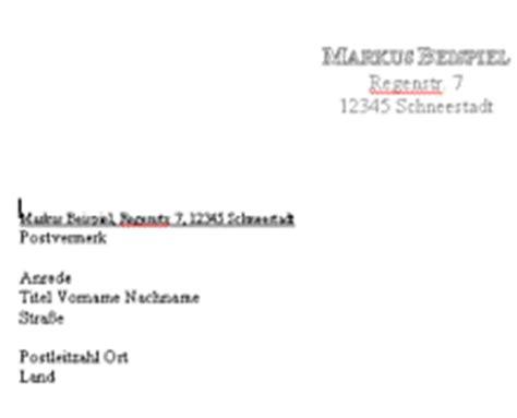 Word Vorlage Privater Brief Din Brief Vorlage F 252 R Word Chip