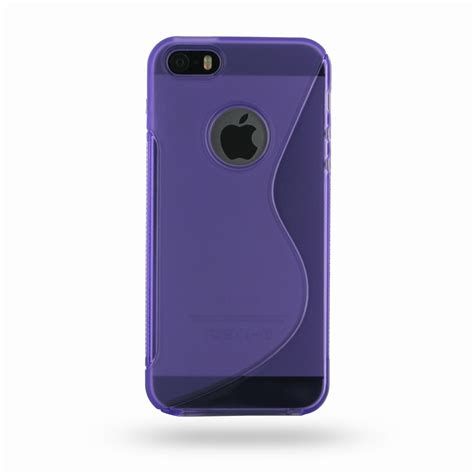 Softcase Iphone 5 Iphone 5s iphone 5 5s soft purple s shape pattern pdair 10