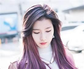 kpop hair color hair trend alert sana s purple hair kpop
