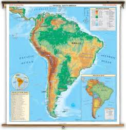 physical feature map of south america moria nadeau may 2012