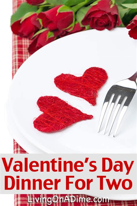 easy valentines day meals s day dinner for two easy menu and recipes