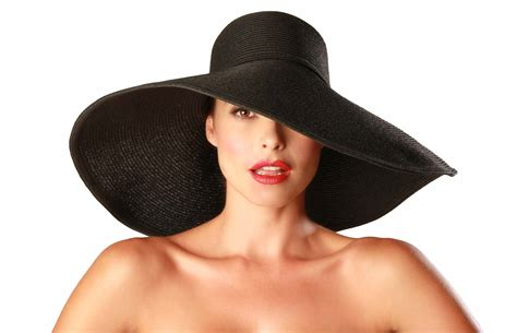 The Big Black Hat by Big Hats Tag Hats