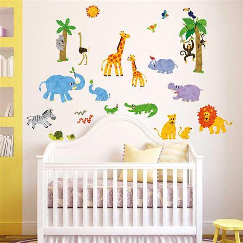 Wandtattoo Kinderzimmer Koala by Wandsticker Dschungeltiere Giraffe L 246 We Koala Wandsticker