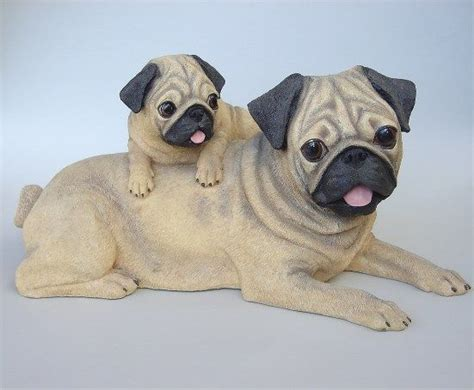 pug statues 17 best images about my pug collection on wall calendars hallway