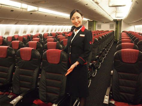 Japan Airlines Cabin by