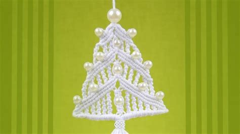 how to make a macrame christmas tree ornament 171 christmas