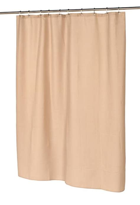 brown waffle weave shower curtain light weight fabric shower curtains standard 70x72