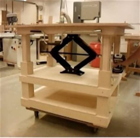 diy adjustable height desk adjustable height table homemadetools net