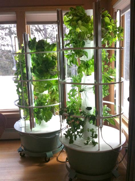latest healthy obsession  tower garden elemental