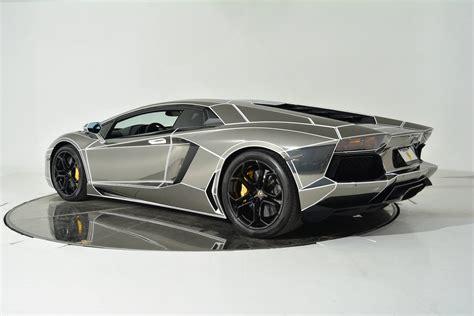 Chrome Lamborghini Aventador Inspired Chrome Lamborghini Aventador Is On Sale