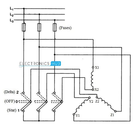 circuit diagram of delta starter wiring diagram