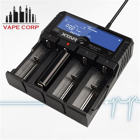 Xtar Vp4 Plus Charger Baterai jual charger xtar vp4 battery charger authentic vape premium charger di lapak cupin store