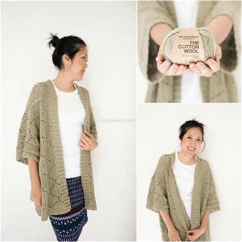 Sweater Rajut Collar kimono cardigan knitting pattern sweater vest