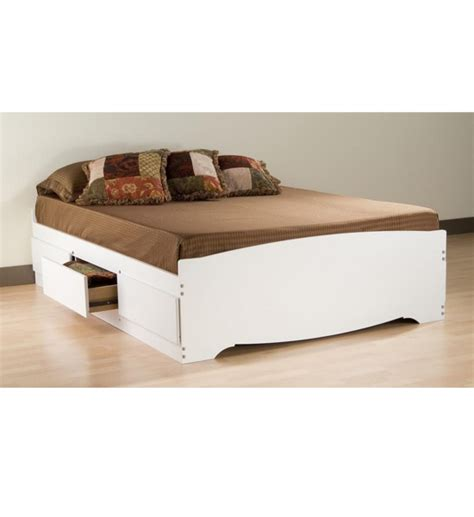 platform bed with storage queen queen platform storage bed in beds and headboards
