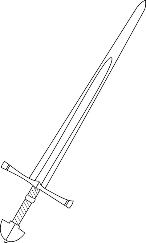 knight sword coloring page medieval europe coloring pages