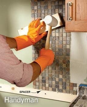 How To Tile A Backsplash The Family Handyman | 1000 images about kitchen backsplash on pinterest