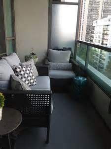 Apartment Size Patio Furniture by The Room Condo Balcony