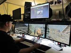Awesome Gamer Setups 30 Coolest And Inspiring Multi Monitor Gaming Setups