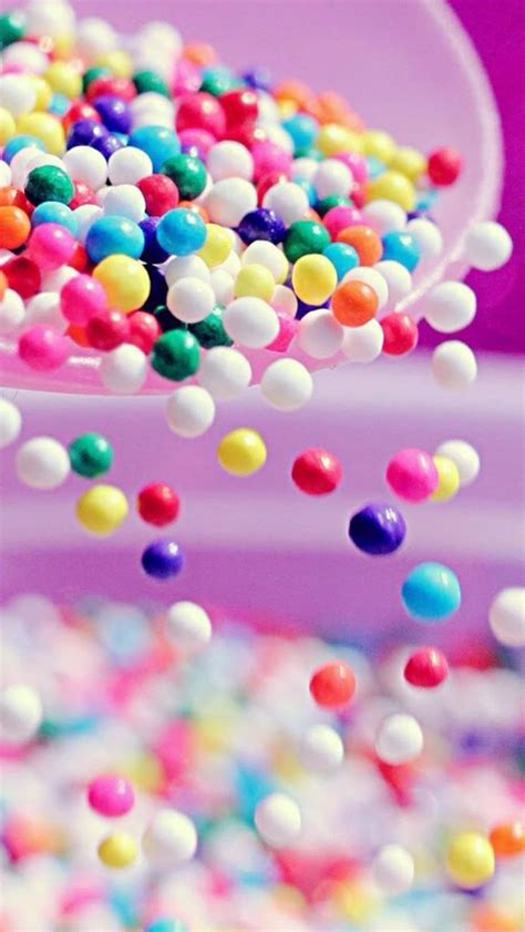 wallpaper for iphone 5 sweet sweet colorful candy ball shaking from bowl iphone 5s