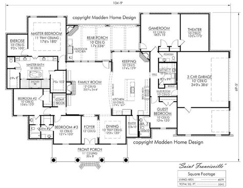 floor plans for country homes best 25 acadian house plans ideas on acadian