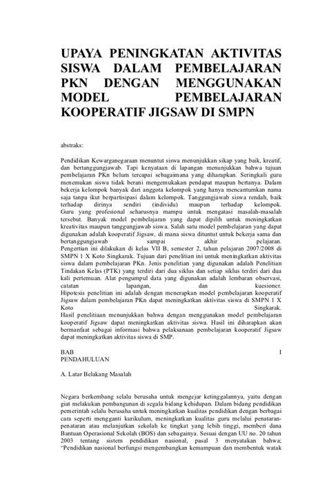 contoh proposal usulan penelitian tindakan kelas contoh proposal penelitian tindakan kelas matematika