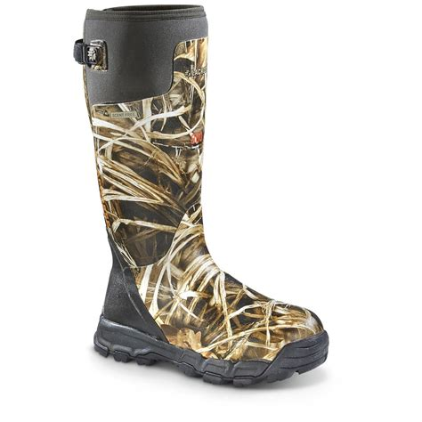 lacrosse boots alphaburly pro lacrosse s alphaburly pro 18 quot insulated camo boots