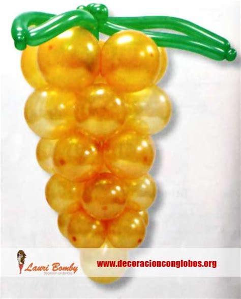 imagenes de uvas en globos decoraci 243 n con globos y figuras para bodas
