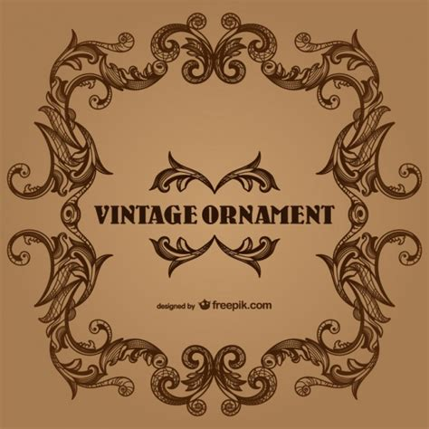 Vintage border frames design Vector   Free Download