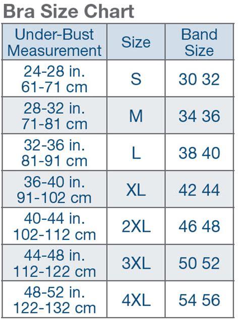 Bra Size Chart make me heal shop