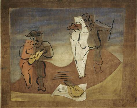 picasso paintings pompidou 1921 cuadro flamenco set design ballets russes the