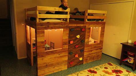 playhouse bunk bed bunk bed playhouse using crib mattresses and a climbing